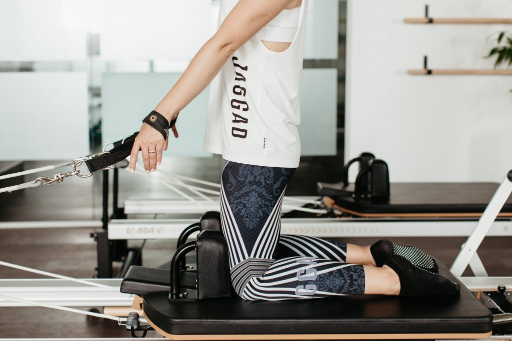 Reformer Pilates resistance training